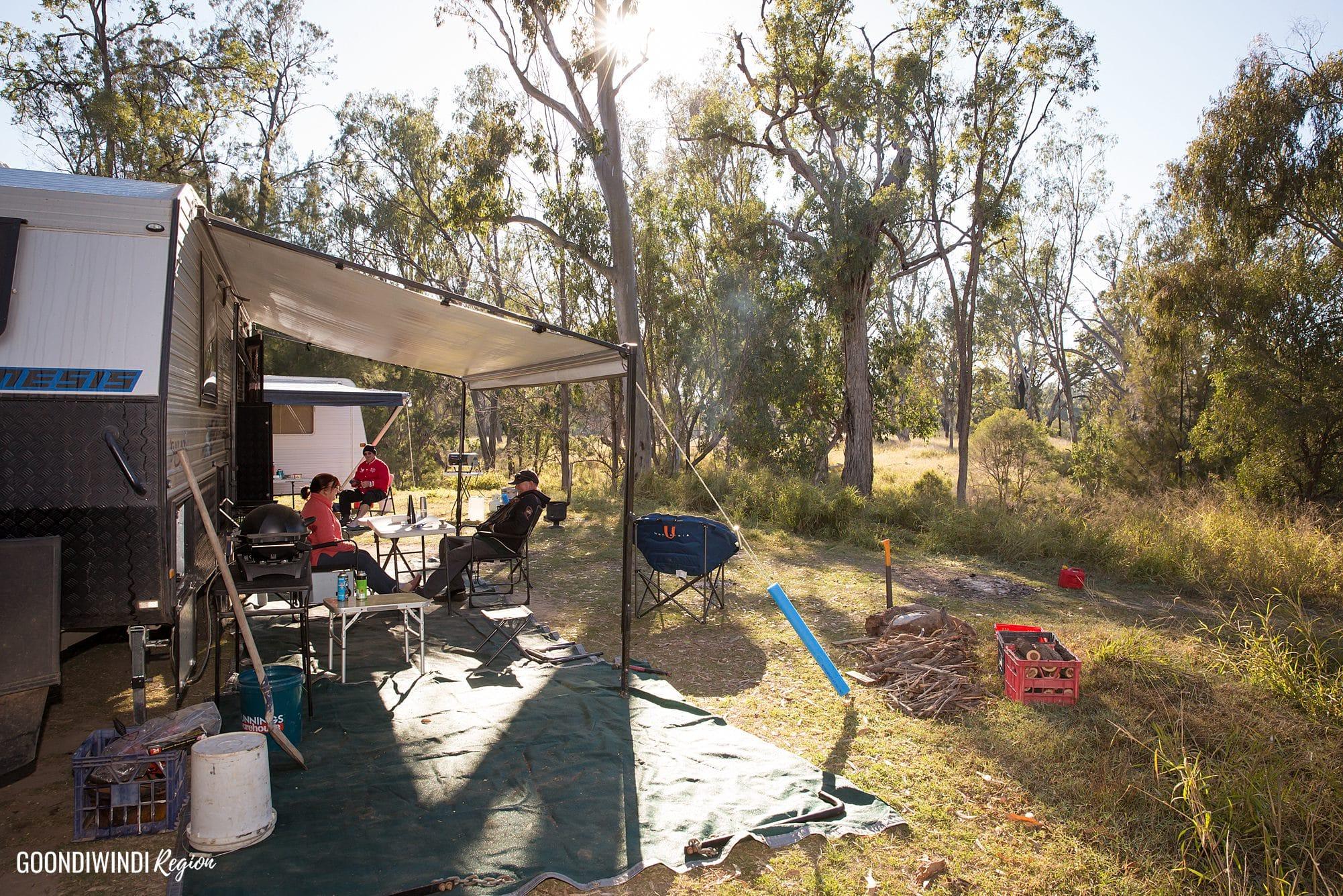 Lees Reserve Caravan Camping fishing