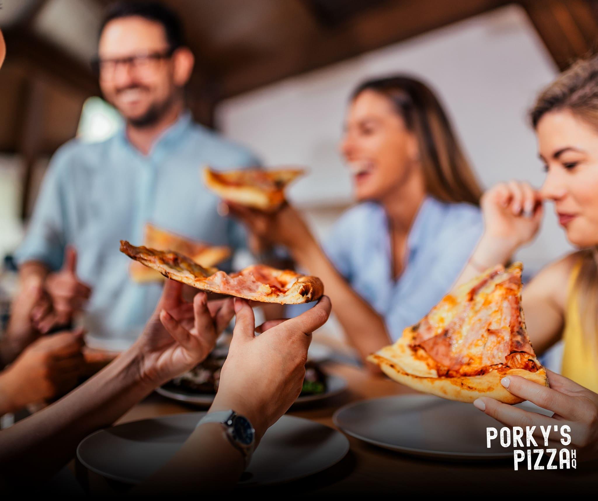 Porky's Pizza HQ
